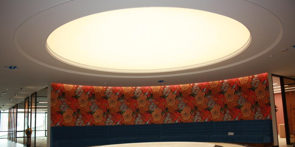 Translucent Ceiling Backlighting Natural Lighting For Dropbox